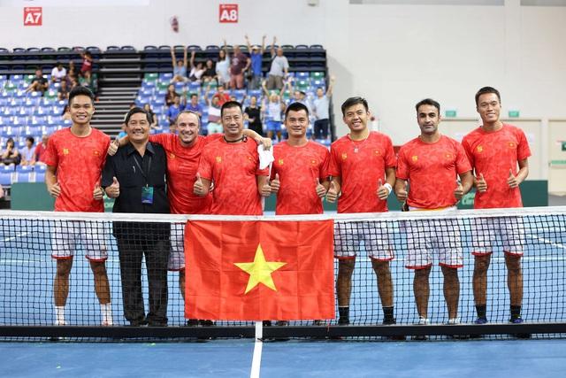 """Tổng thư ký Liên đoàn Quần vợt Việt Nam: """"Davis Cup là một trong những bước chuẩn bị cho SEA Games 31 của Quần vợt"""" - Ảnh 1."""
