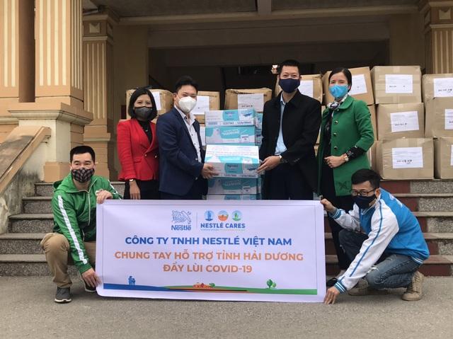 Nestlé Việt Nam sát cánh cùng tuyến đầu phòng chống đại dịch - Ảnh 2.