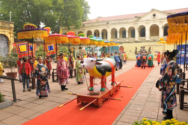 Lễ Tiến xuân, một nghi lễ thể hiện tinh thần trọng nông của triều Nguyễn - Ảnh 3.