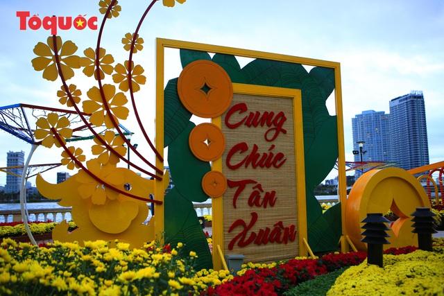 Rực rỡ đường hoa xuân Đà Nẵng  - Ảnh 10.