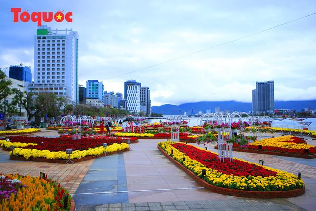 Rực rỡ đường hoa xuân Đà Nẵng  - Ảnh 16.