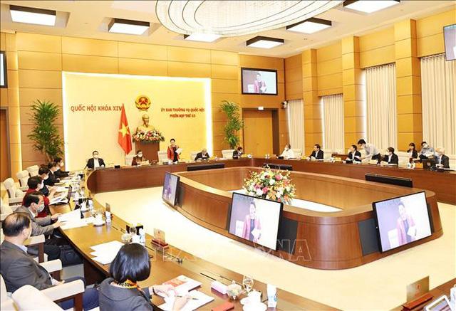 Thường vụ Quốc hội sẽ cho ý kiến công tác nhân sự để trình Quốc hội - Ảnh 1.
