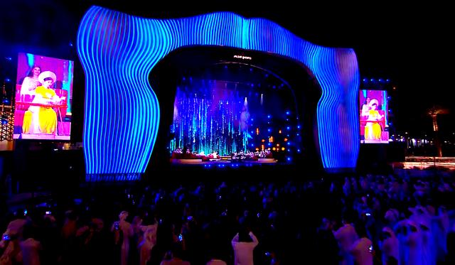 Đàn Bầu Việt Nam lần đầu hòa tấu trên sân khấu âm nhạc truyền thống Trung Đông - Ảnh 3.