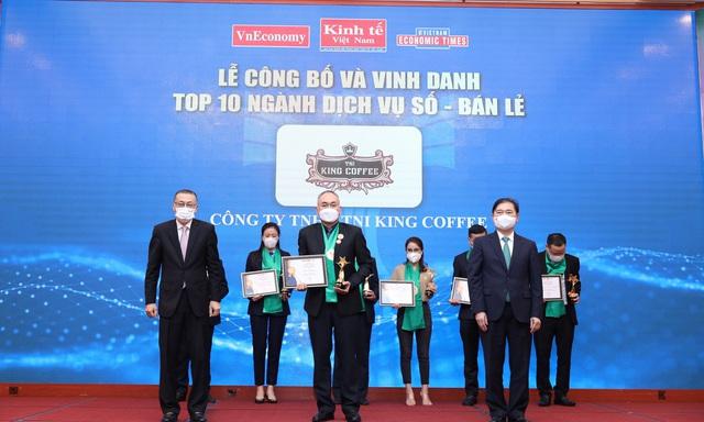 TNI King Coffee được vinh danh Top 10 Thương hiệu Mạnh Việt Nam 2020 - 2021 - Ảnh 1.