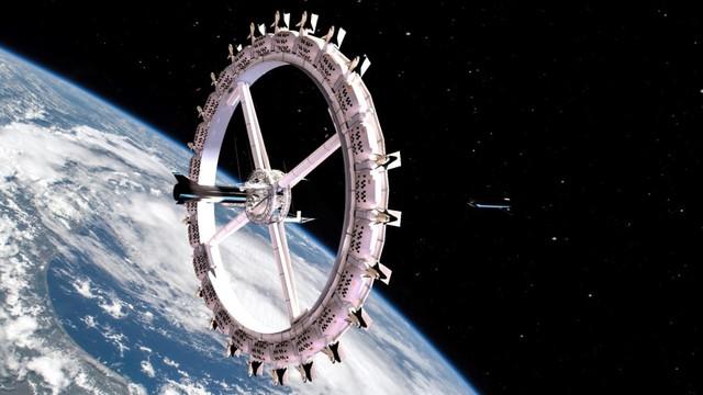 Điều kỳ diệu của khách sạn ngoài vũ trụ đầu tiên trên thế giới - Ảnh 1.