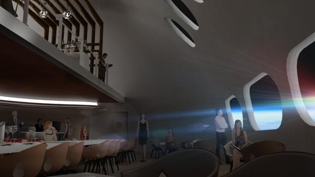 Điều kỳ diệu của khách sạn ngoài vũ trụ đầu tiên trên thế giới - Ảnh 2.