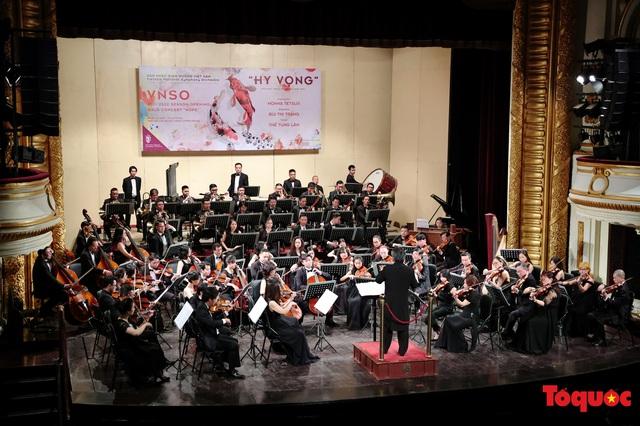 """Vô vàn cảm xúc trong buổi hoà nhạc """"Hy Vọng"""", mở màn mùa diễn 2021 - Ảnh 10."""