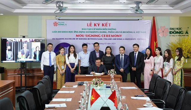 Sinh viên Việt Nam được tiếp cận chương trình quốc tế điều dưỡng chất lượng Châu Âu - Ảnh 1.