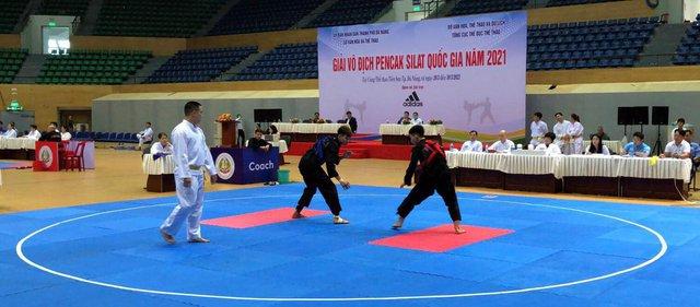 Khai mạc giải Vô địch Pencak Silat quốc gia năm 2021: Bắt đầu tìm kiếm nhà vô địch - Ảnh 1.