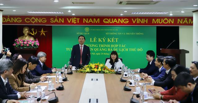 Hà Nội: Ứng dụng công nghệ thông tin trong hoạt động du lịch Thủ đô giai đoạn 2021-2025 - Ảnh 1.
