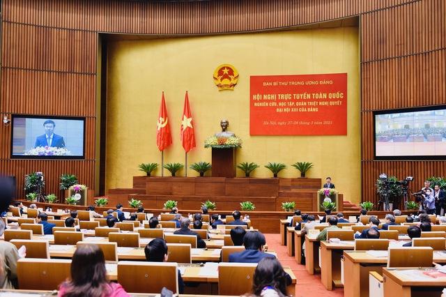 Ban Bí thư tổ chức Hội nghị quán triệt Nghị quyết Đại hội XIII của Đảng - Ảnh 1.