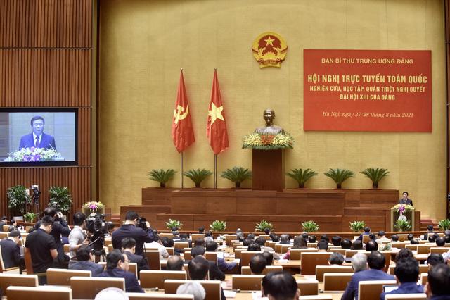 Ban Bí thư tổ chức Hội nghị quán triệt Nghị quyết Đại hội XIII của Đảng - Ảnh 4.