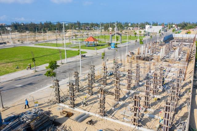 Đất Xanh Miền Trung  ngày đêm xây dựng dự án, đảm bảo tiến độ và chất lượng đạt chuẩn quốc tế - Ảnh 2.