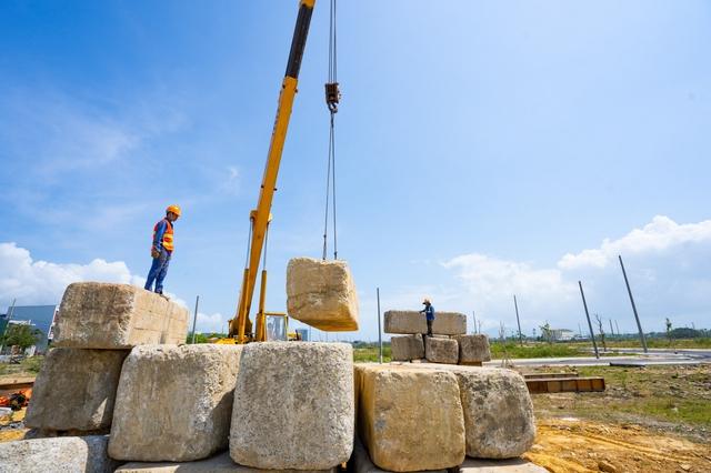 Đất Xanh Miền Trung  ngày đêm xây dựng dự án, đảm bảo tiến độ và chất lượng đạt chuẩn quốc tế - Ảnh 6.