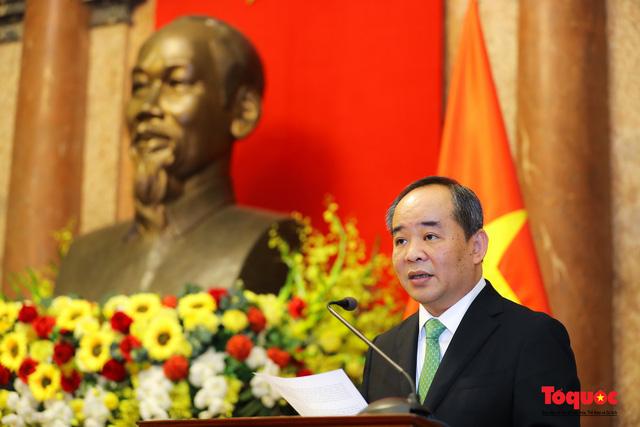 Trao quyết định ông Lê Khánh Hải giữ chức vụ Chủ nhiệm Văn phòng Chủ tịch nước  - Ảnh 6.
