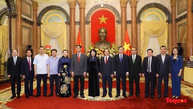 Trao quyết định ông Lê Khánh Hải giữ chức vụ Chủ nhiệm Văn phòng Chủ tịch nước  - Ảnh 9.