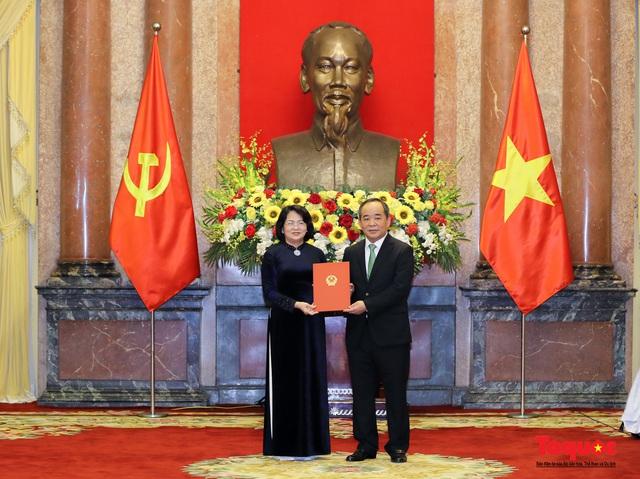 Trao quyết định ông Lê Khánh Hải giữ chức vụ Chủ nhiệm Văn phòng Chủ tịch nước  - Ảnh 2.