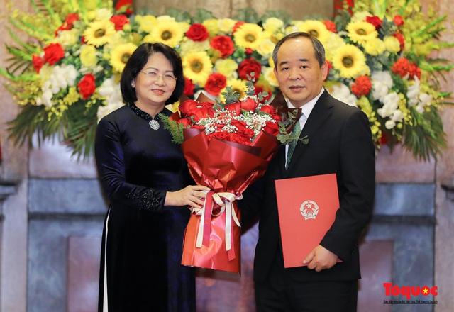 Trao quyết định ông Lê Khánh Hải giữ chức vụ Chủ nhiệm Văn phòng Chủ tịch nước  - Ảnh 4.