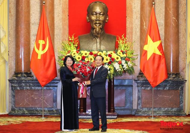 Trao quyết định ông Lê Khánh Hải giữ chức vụ Chủ nhiệm Văn phòng Chủ tịch nước  - Ảnh 7.