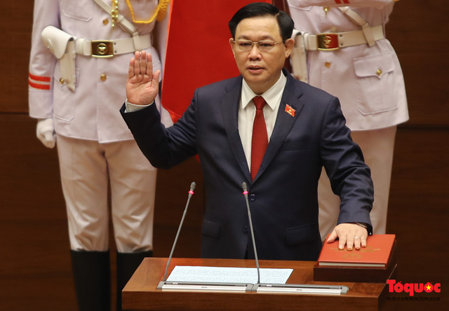 Nhiều đại biểu kỳ vọng vào tân Chủ tịch Quốc hội Vương Đình Huệ - Ảnh 1.