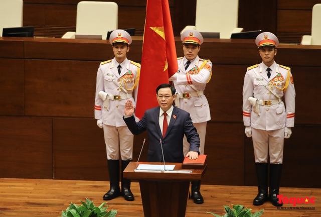 Kỳ vọng, tin tưởng ở tân Chủ tịch Quốc hội Vương Đình Huệ - Ảnh 1.