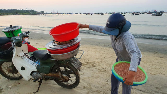 Ruốc biển tươi rói bên bờ biển Đà Nẵng - Ảnh 10.