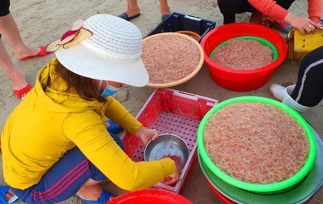 Ruốc biển tươi rói bên bờ biển Đà Nẵng - Ảnh 4.