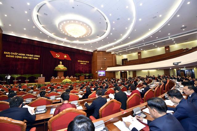 Nội dung ngày làm việc thứ nhất Hội nghị Trung ương 2 - Ảnh 1.