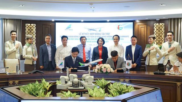 Bamboo Airways là nhà tài trợ Vàng Giải bóng chuyền Vô địch quốc gia 2021 - Ảnh 1.