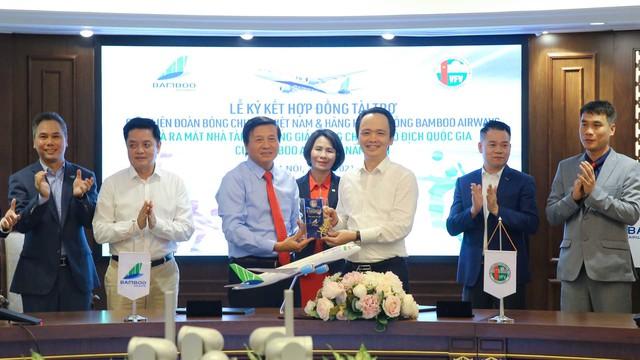 Bamboo Airways là nhà tài trợ Vàng Giải bóng chuyền Vô địch quốc gia 2021 - Ảnh 2.