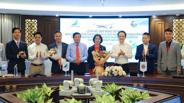 Bamboo Airways là nhà tài trợ Vàng Giải bóng chuyền Vô địch quốc gia 2021 - Ảnh 3.