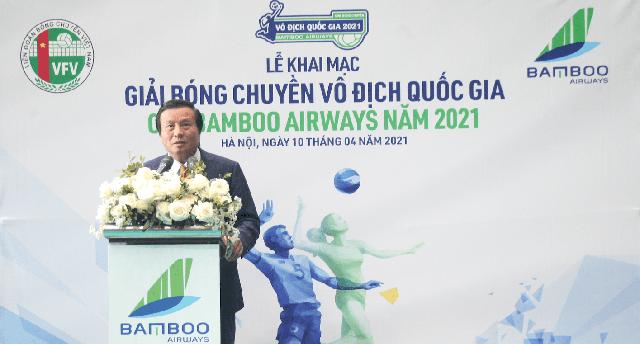 Chính thức khai mạc Giải Bóng chuyền Vô địch Quốc gia Cúp Bamboo Airways năm 2021 - Ảnh 2.