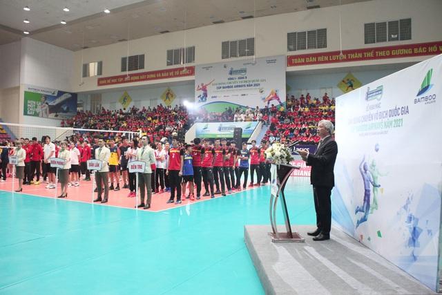 Chính thức khai mạc Giải Bóng chuyền Vô địch Quốc gia Cúp Bamboo Airways năm 2021 - Ảnh 4.