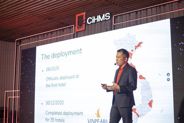 Vingroup ra mắt bộ giải pháp chuyển đổi số quản lý khách sạn toàn diện CiHMS - Ảnh 1.