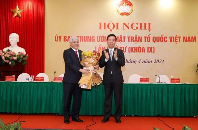 Ông Đỗ Văn Chiến được giới thiệu giữ chức Chủ tịch Ủy ban Trung ương Mặt trận Tổ quốc Việt Nam - Ảnh 1.