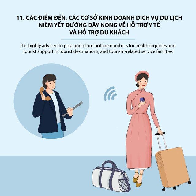 Thừa Thiên Huế ban hành Bộ Quy tắc ứng xử văn minh du lịch trong trạng thái bình thường mới - Ảnh 12.