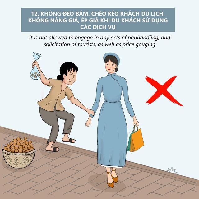 Thừa Thiên Huế ban hành Bộ Quy tắc ứng xử văn minh du lịch trong trạng thái bình thường mới - Ảnh 13.