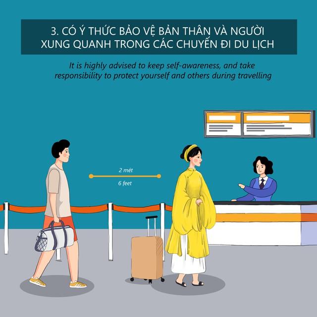 Thừa Thiên Huế ban hành Bộ Quy tắc ứng xử văn minh du lịch trong trạng thái bình thường mới - Ảnh 4.