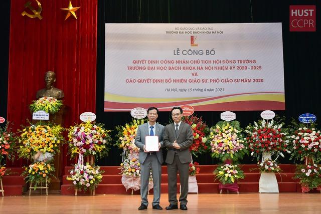 GS.TS. Lê Anh Tuấn là Chủ tịch Hội đồng trường ĐH Bách khoa Hà Nội - Ảnh 1.