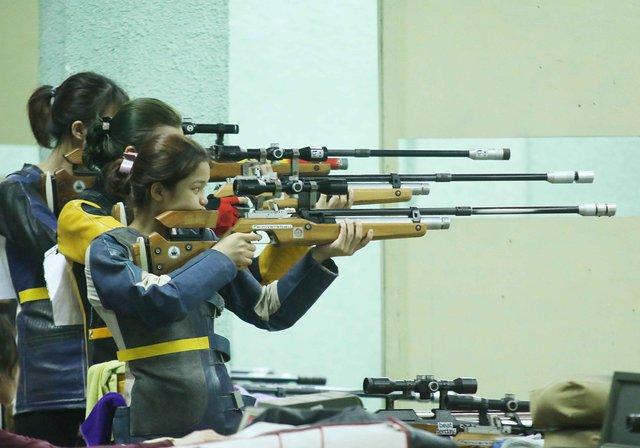 Xạ thủ đoàn Quân đội tiếp tục phá sâu kỷ lục quốc gia tại Giải vô địch Bắn súng trẻ quốc gia 2021 - Ảnh 1.