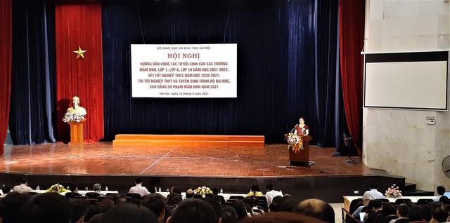 Học sinh không trúng tuyển vào lớp tiếng Nhật vẫn được xét tuyển vào lớp tiếng Anh - Ảnh 1.