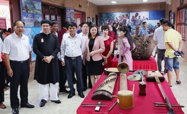 Trưng bày 30 loại nhạc cụ truyền thống tiêu biểu của các dân tộc Việt Nam - Ảnh 4.
