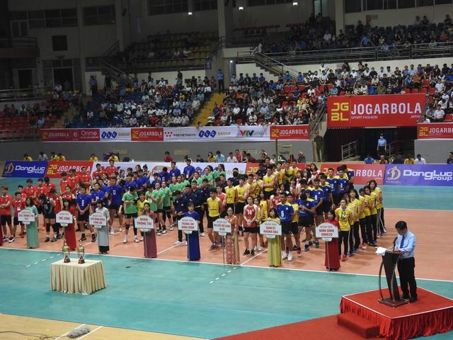 Phú Thọ: Khai mạc giải bóng chuyền vô địch Quốc gia - Cúp Hùng Vương 2021 - Ảnh 2.