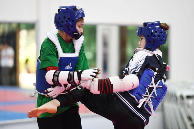 Đội tuyển Taekwondo Việt Nam đặt mục tiêu giành suất tham dự Olympic - Ảnh 1.