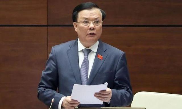 Bộ trưởng Bộ Tài chính Đinh Tiến Dũng làm Bí thư Thành ủy Hà Nội - Ảnh 1.