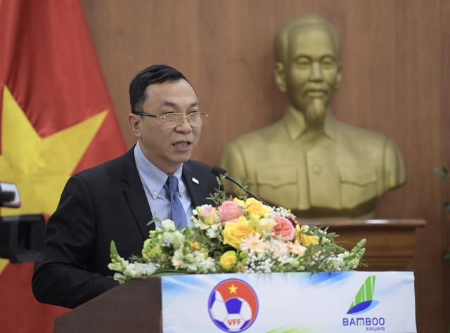 Bamboo Airways là Nhà tài trợ vận chuyển cho toàn bộ các Đội tuyển bóng đá Quốc gia Việt Nam trong 3 năm - Ảnh 3.