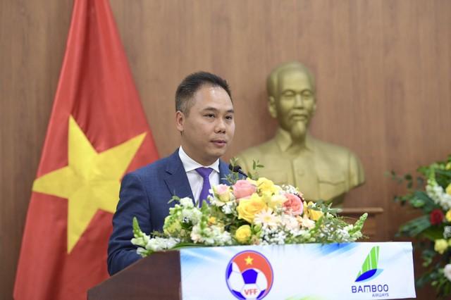Bamboo Airways là Nhà tài trợ vận chuyển cho toàn bộ các Đội tuyển bóng đá Quốc gia Việt Nam trong 3 năm - Ảnh 4.