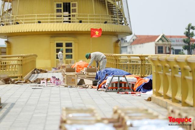 Cận cảnh trận địa pháo hoa kỷ niệm lễ Giỗ tổ Hùng Vương (10.3 Âm lịch) - Ảnh 7.