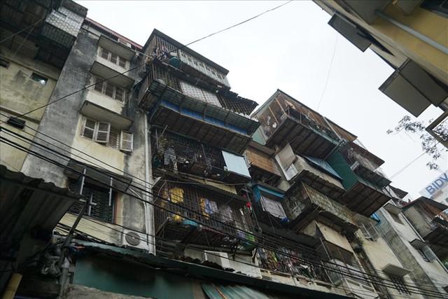 Hà Nội: Sử dụng ngân sách để đánh giá chất lượng chung cư cũ ngay trong năm 2021 - Ảnh 1.