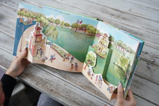 Tái hiện ngàn năm Thăng Long – Hà Nội qua sách dựng hình 3D - Ảnh 3.